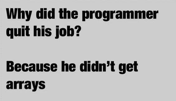 Why did programmer quit his job?