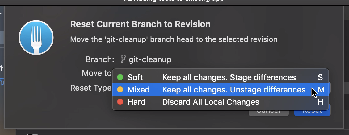 Git cleanup